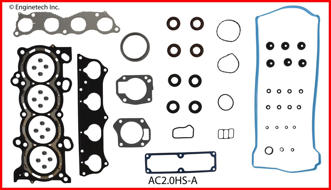 hight resolution of 2004 acura rsx 2 0l engine cylinder head gasket set ac2 0hs a 3 head and brain diagram rsx head diagram
