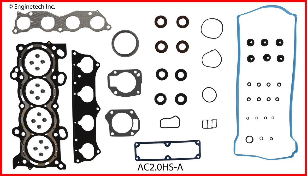 hight resolution of 2004 acura rsx 2 0l engine cylinder head gasket set ac2 0hs a 3 head and brain diagram rsx head diagram