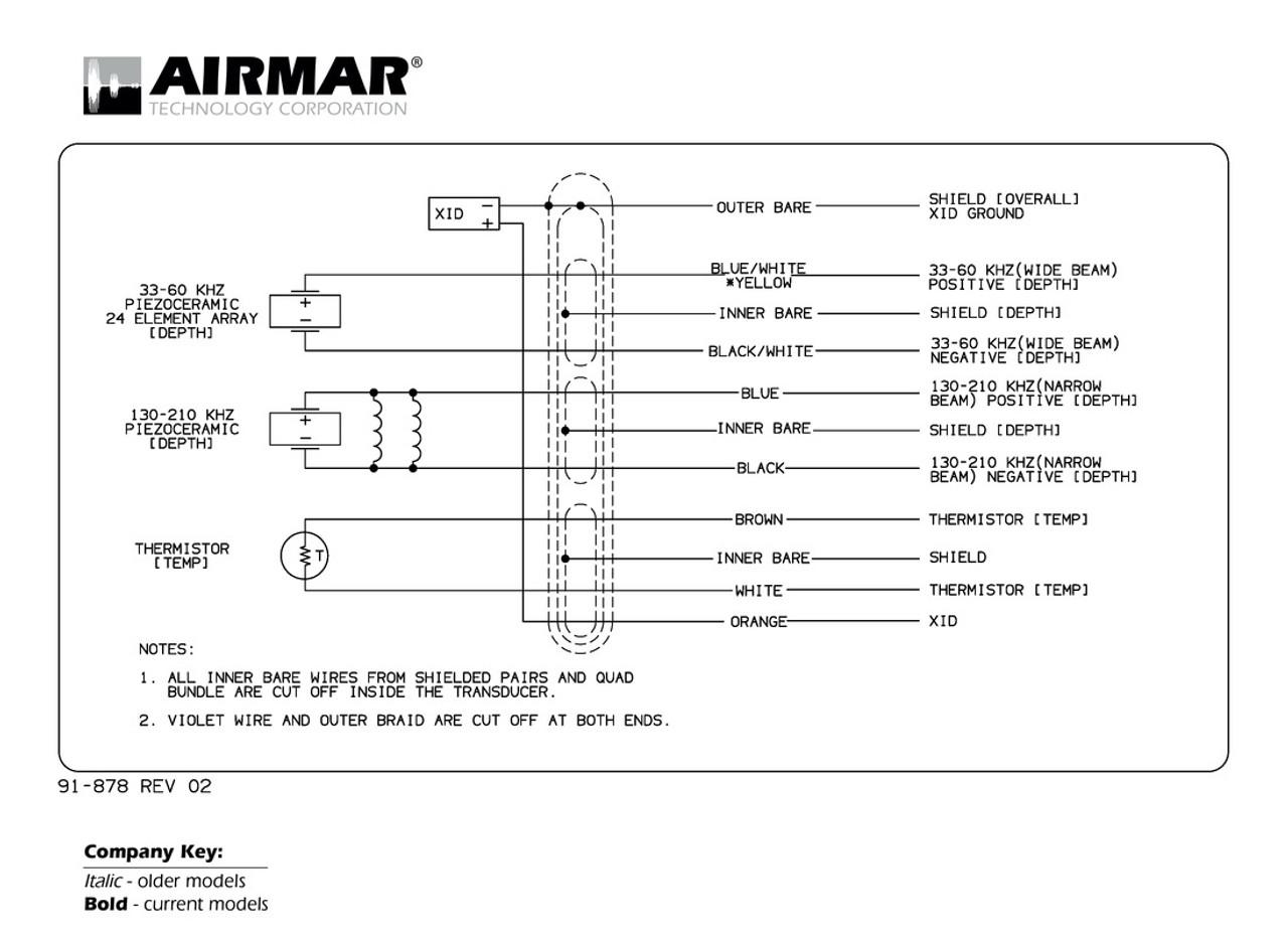 medium resolution of airmar wiring diagram furuno 3 3kw diplexer blue bottle marinedepth u0026 temperature 1 2 3kw