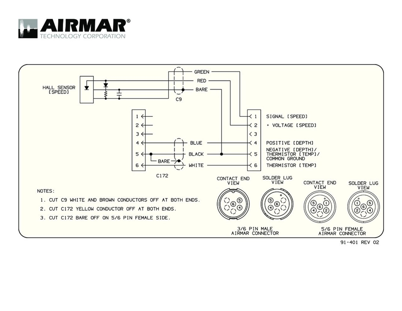 hight resolution of airmar wiring diagram garmin 6 pin s blue bottle marinespeed sensor with y cable