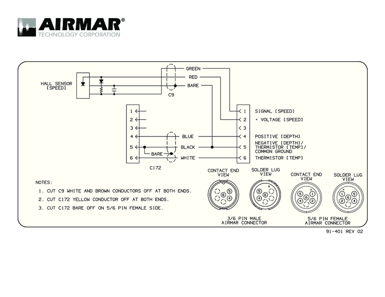 small resolution of airmar wiring diagram garmin 6 pin s blue bottle marinespeed sensor with y cable