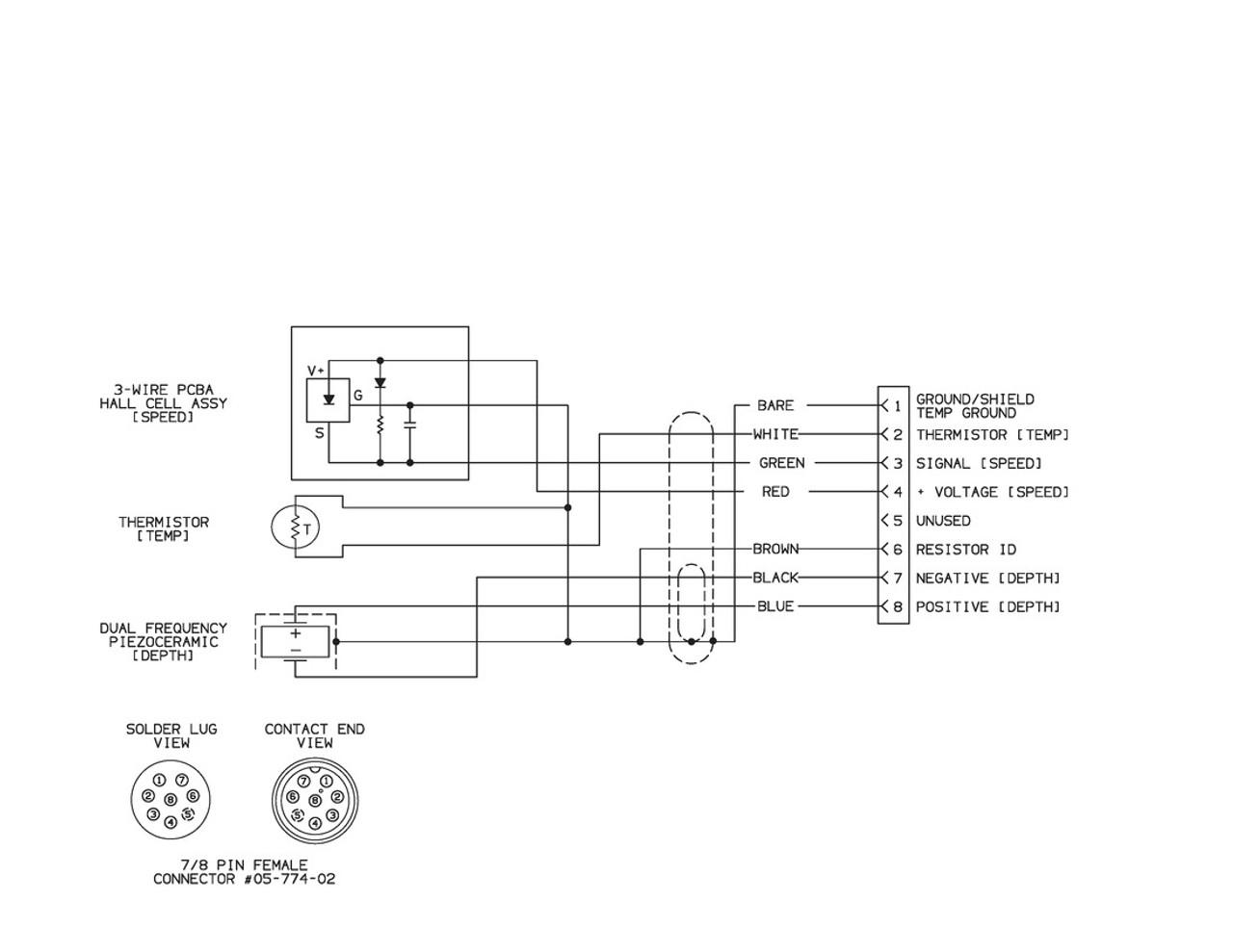 airmar wiring diagram garmin p66 600w s d t blue bottle marine [ 1280 x 989 Pixel ]