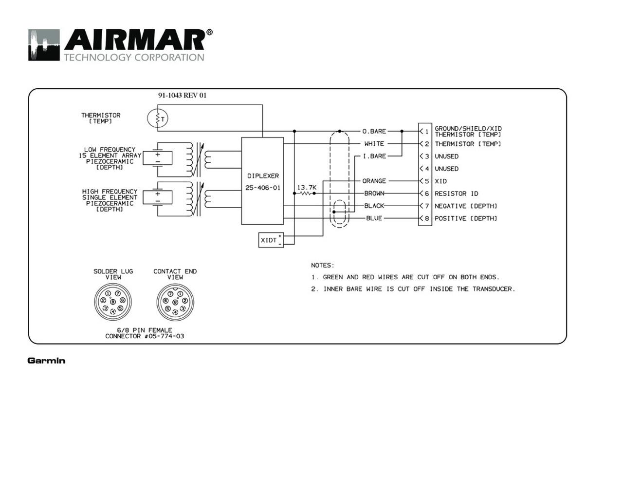 medium resolution of airmar wiring diagram garmin r99 8 pin d t blue bottle marine garmin 8 pin wiring diagram