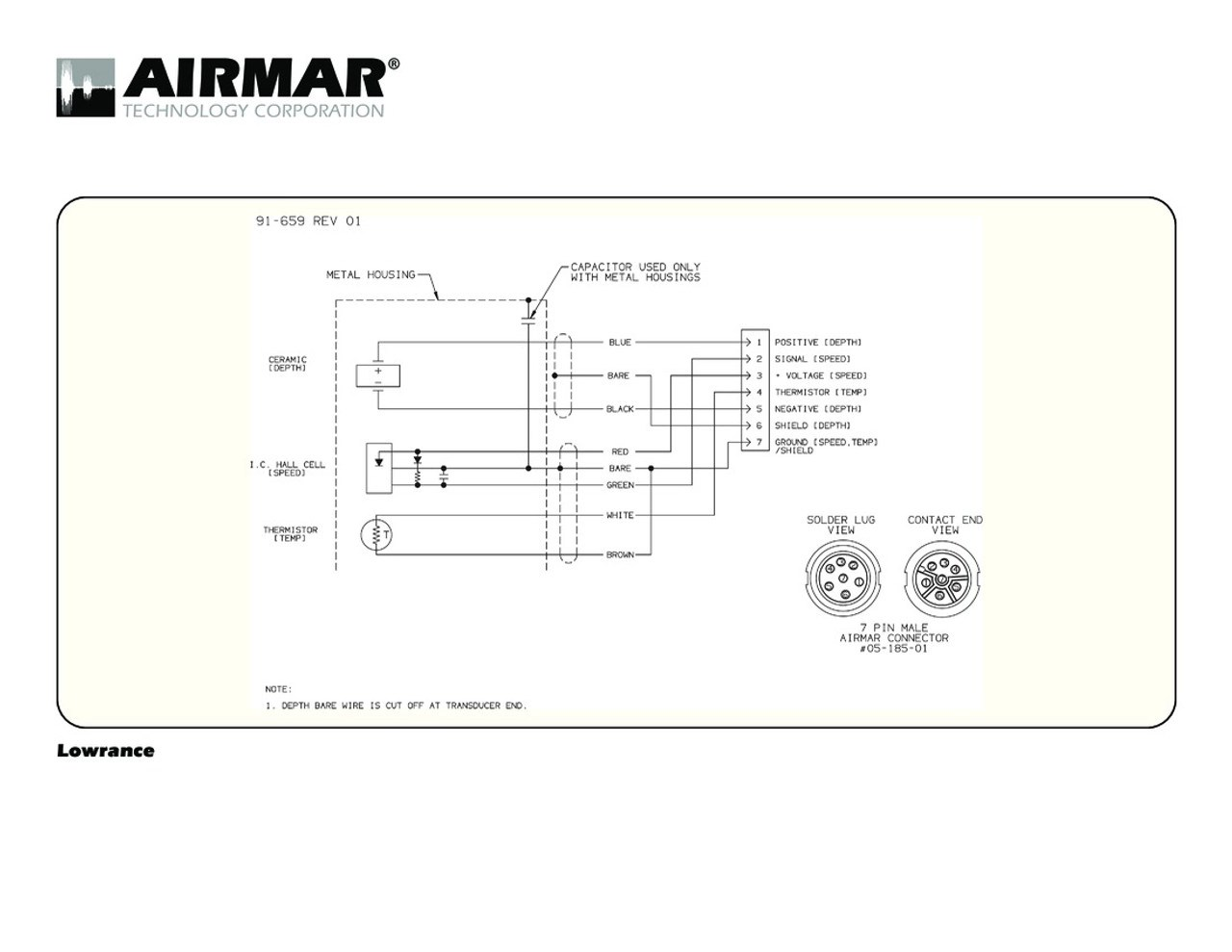 hight resolution of airmar wiring diagram lowrance 7 pin d s t blue bottle marinedepth
