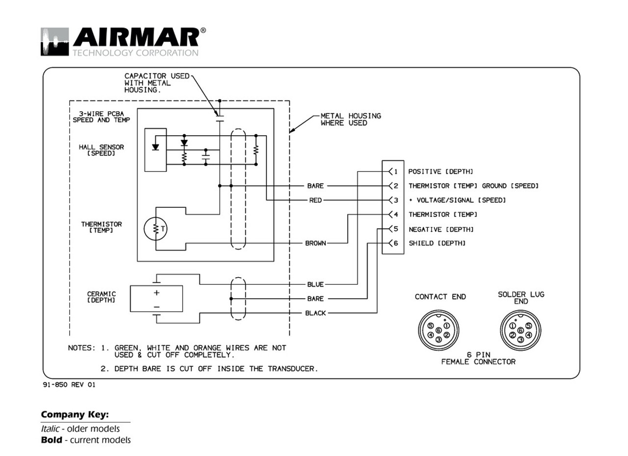hight resolution of depth speed temperature transducers with navman northstar 6 pin connector