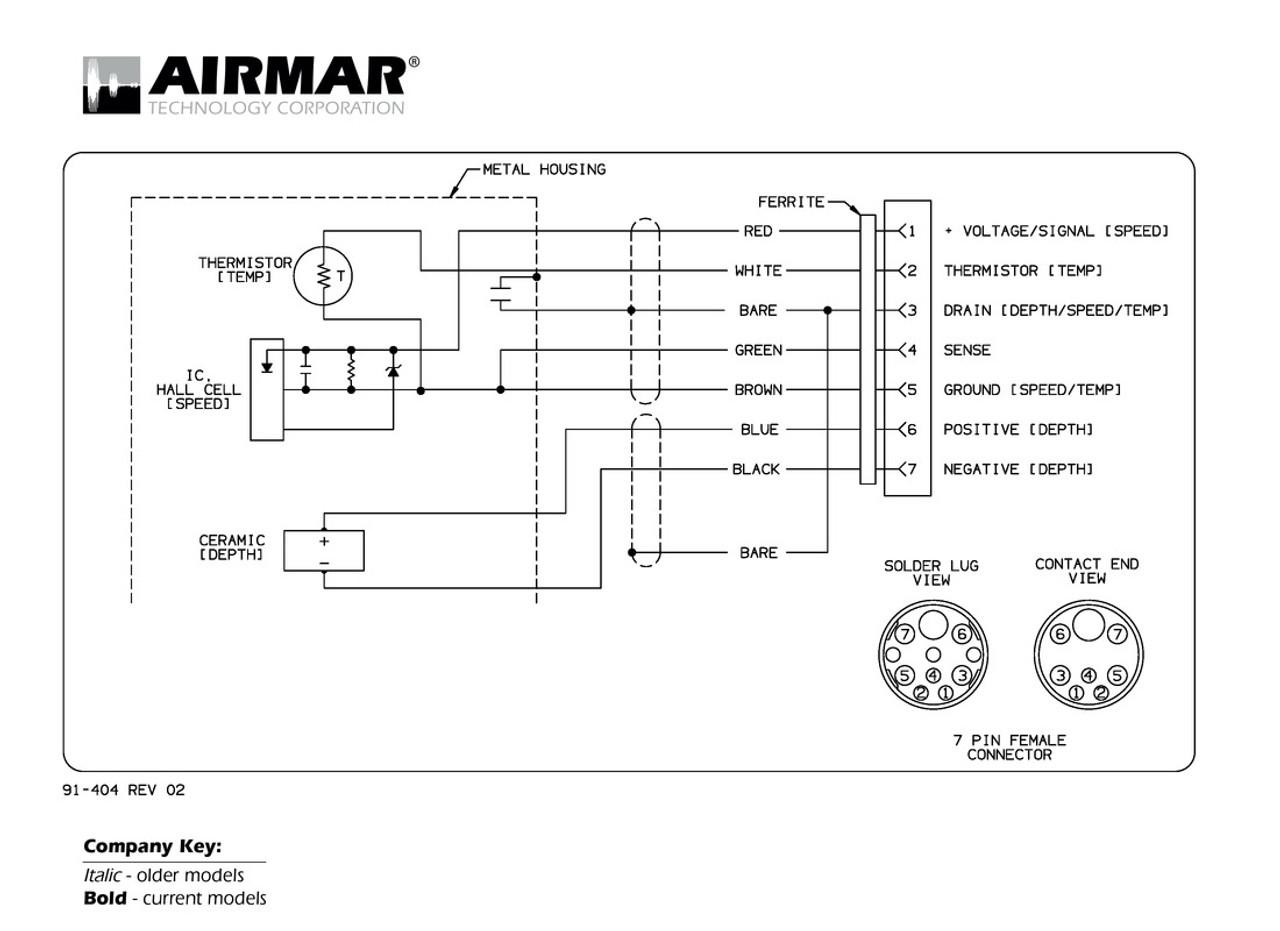 hight resolution of airmar wiring diagram raymarine dsm300 7 pin blue bottle marine