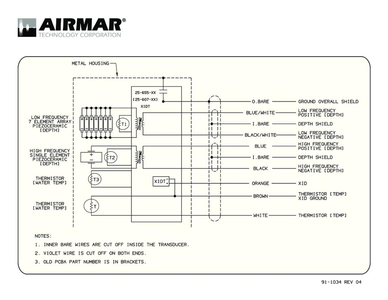 transducer wiring diagram [ 1100 x 850 Pixel ]