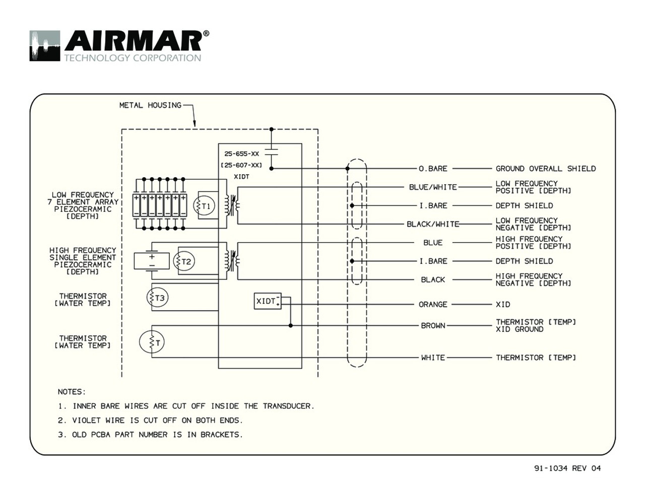 airmar wiring diagram b265 b275 blue bottle marineairmar wiring diagrams 8 [ 1280 x 989 Pixel ]