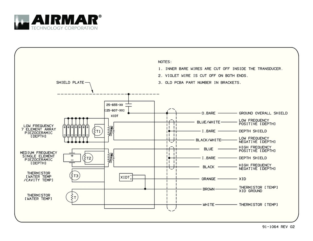 medium resolution of airmar wiring diagram tm265lm blue bottle marine airmar transducer wiring diagram tm265c lm with bare wire