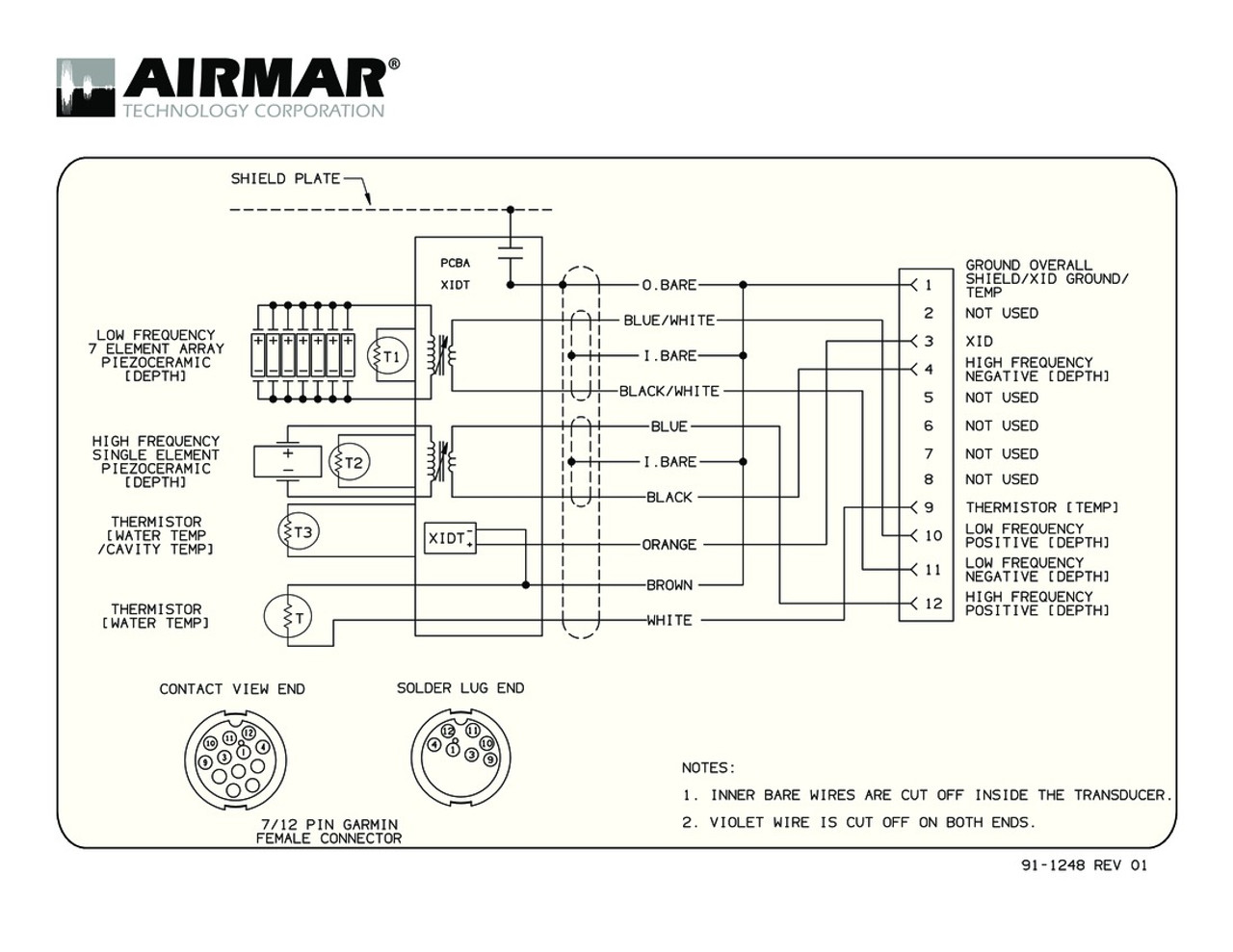 raymarine transducer wiring diagram [ 1100 x 850 Pixel ]