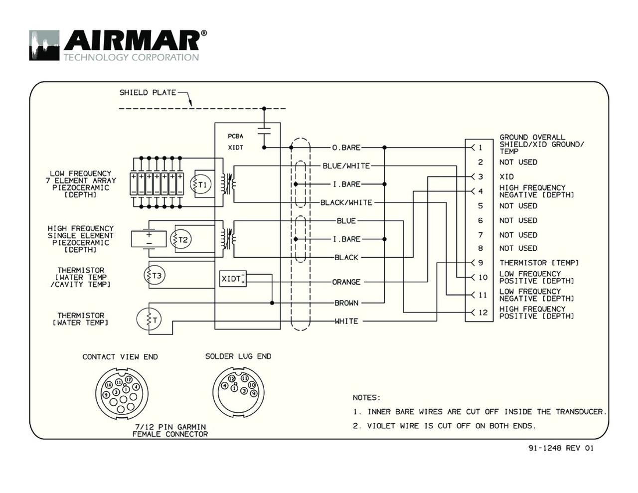 hight resolution of raymarine transducer wiring diagram