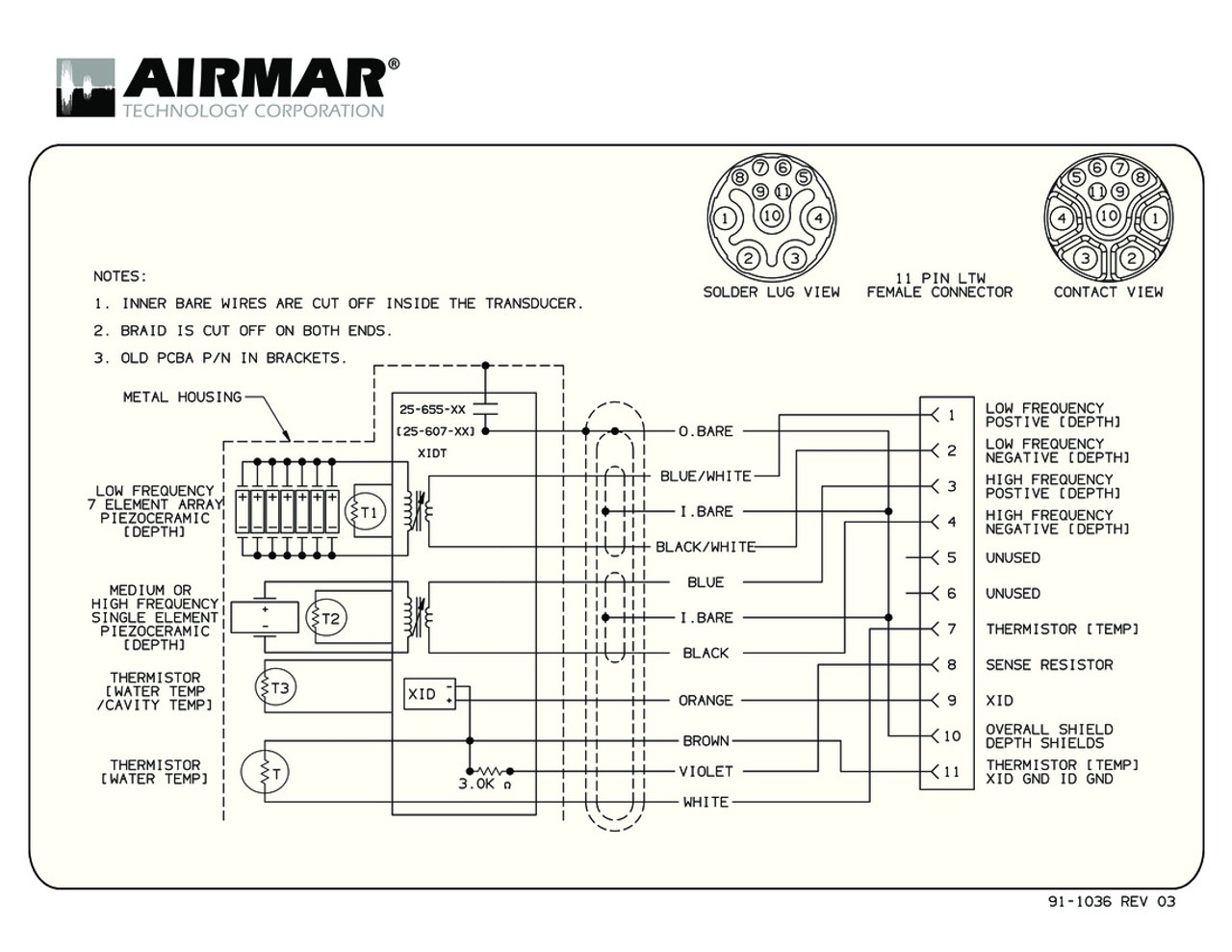 medium resolution of  airmar wiring diagram b265lh b265lm blue bottle marine on pioneer wiring diagrams garmin airmar wiring diagram raymarine