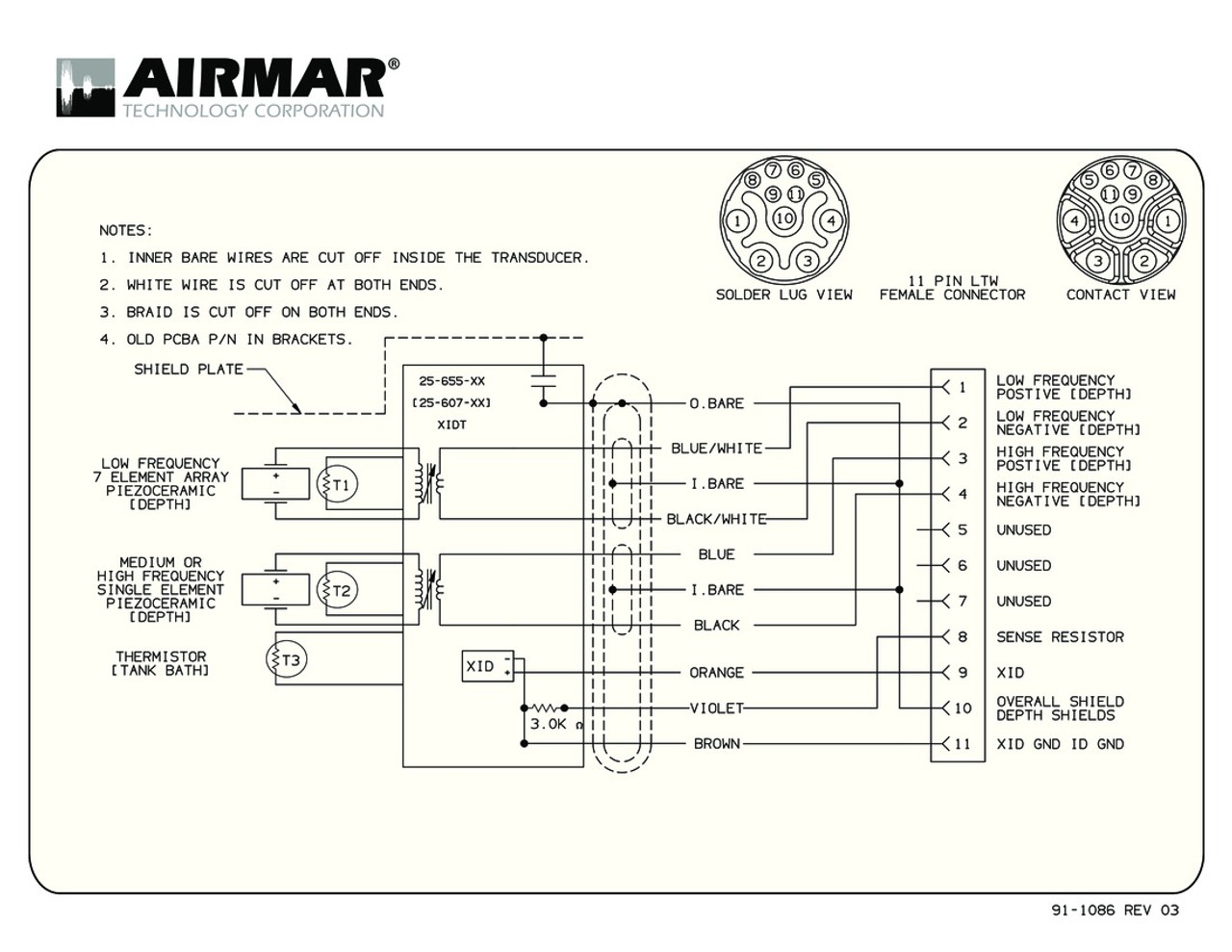 medium resolution of raymarine transducer wiring diagram samsung wiring diagrams panasonic airmar wiring diagram m265 blue bottle marine on