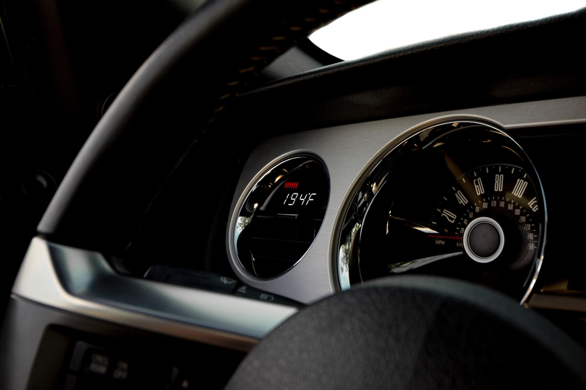 mustang gen 5 p3 gauge dash photo  [ 1280 x 853 Pixel ]