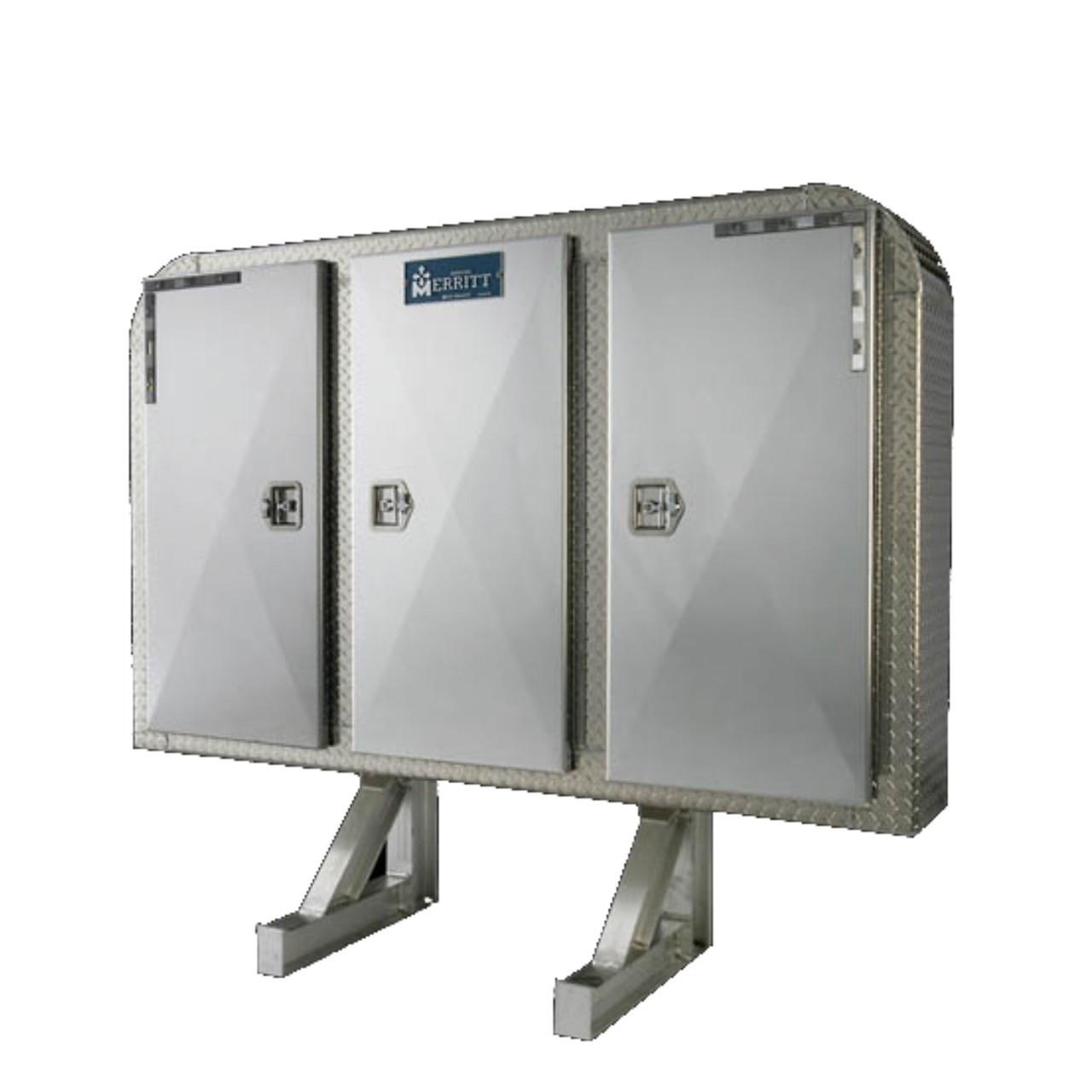 merritt lsr headache rack 3 door full enclosure
