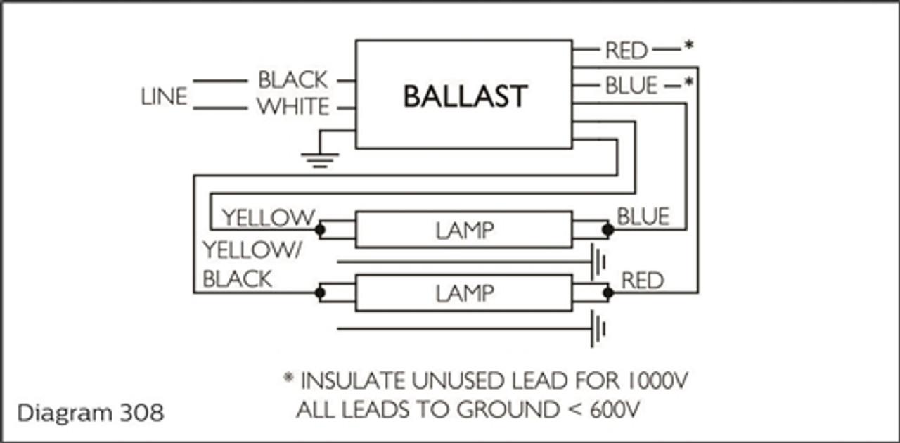 advance isb 0432 14 e 120v to 277v fluorescent ballast 1  [ 1280 x 630 Pixel ]