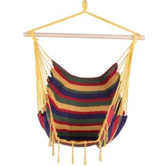 Swing Chair Seat Santa Claus Canvas Hanging Hammock With Wood Spreader Bar And Lazy Daze Hammocks Tropical Stripe