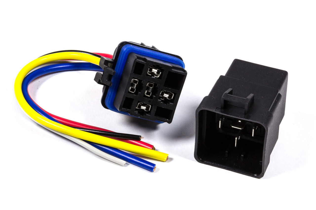 hight resolution of weatherproof relay with harness 30amp all76188 allstar performance