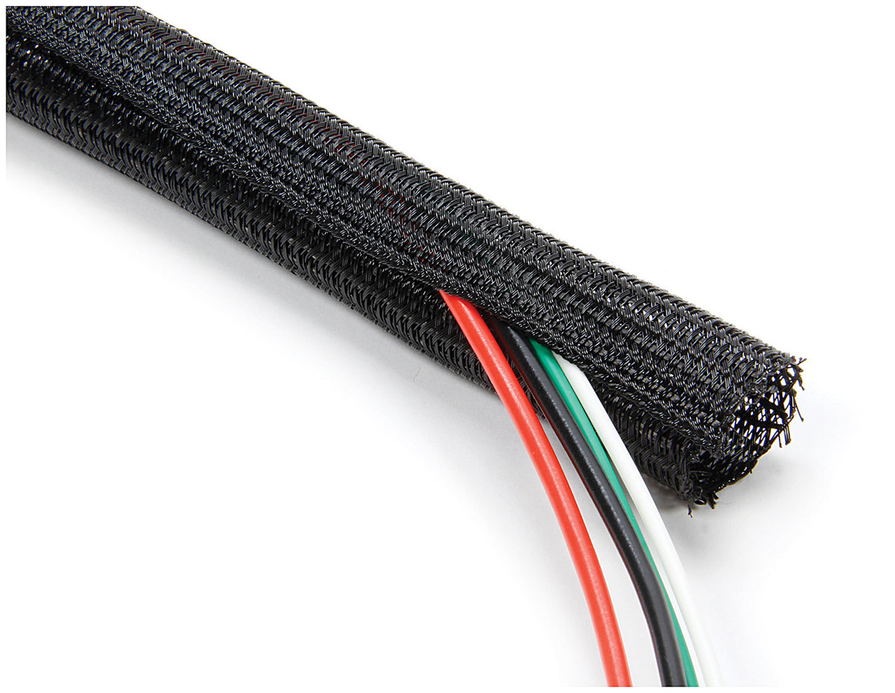medium resolution of braided wire wrap 1 2in x 10ft all76614 allstar performance