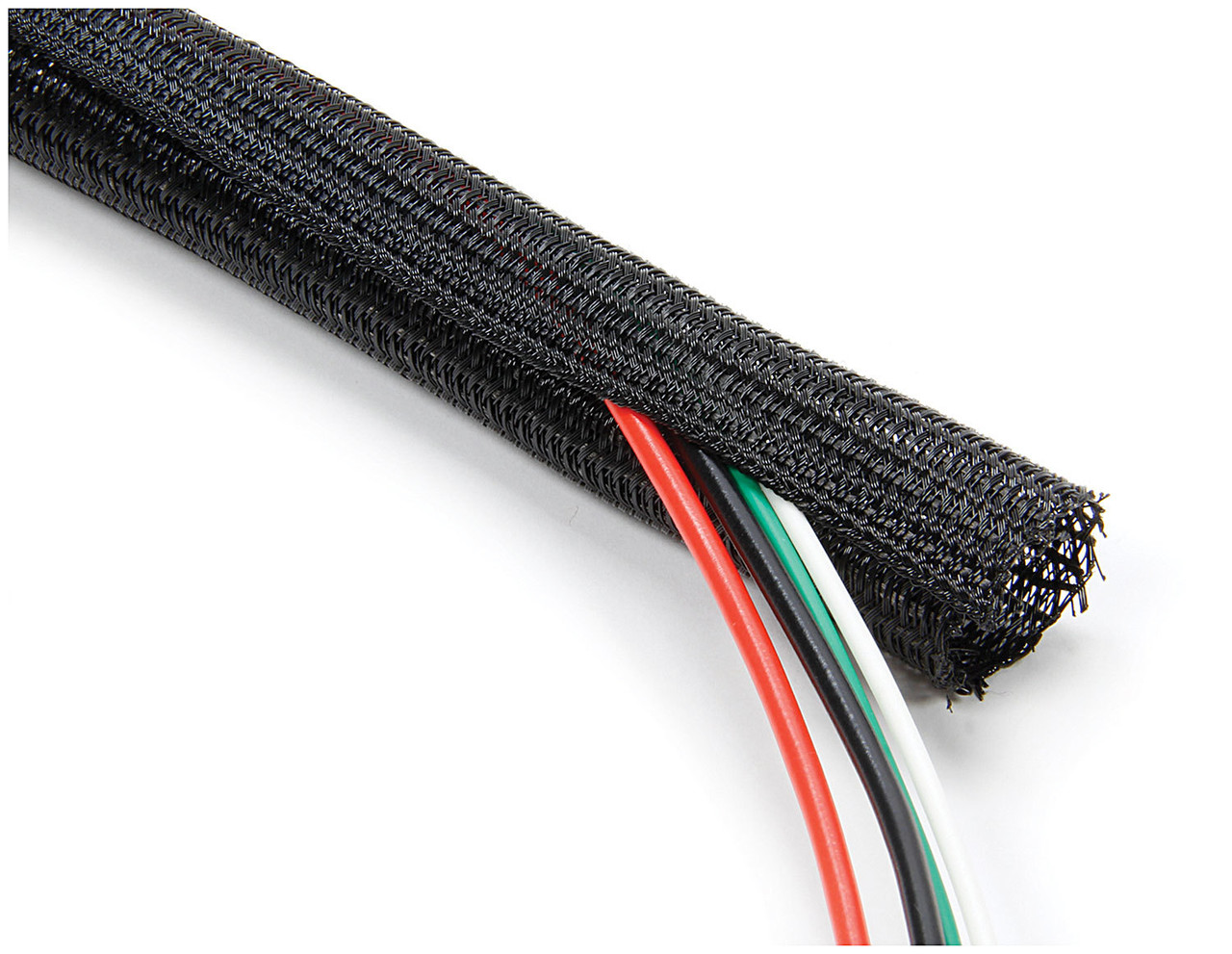 hight resolution of braided wire wrap 3 4in x 5ft all76616 allstar performance
