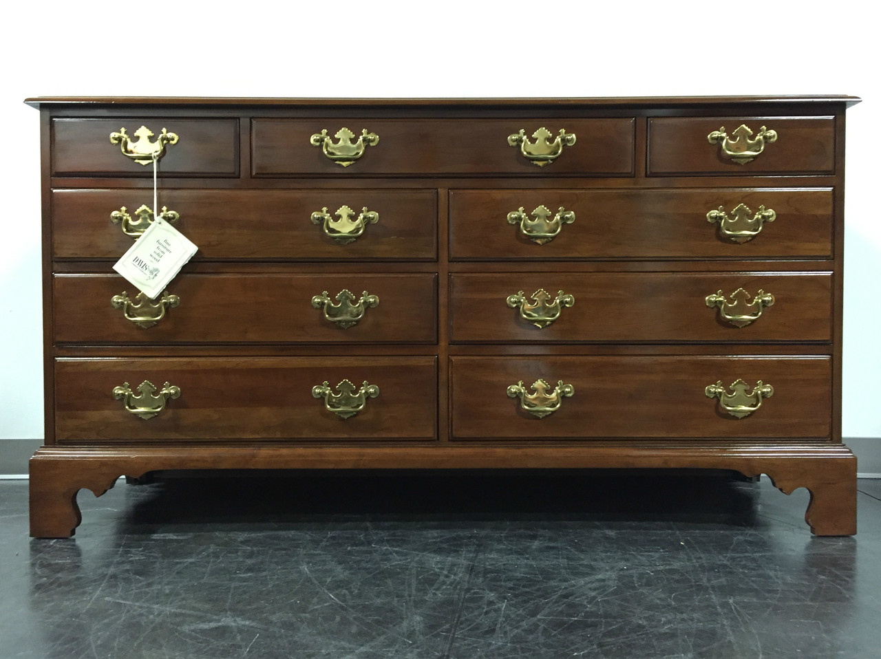 sold out davis cabinet co solid cherry georgian dresser