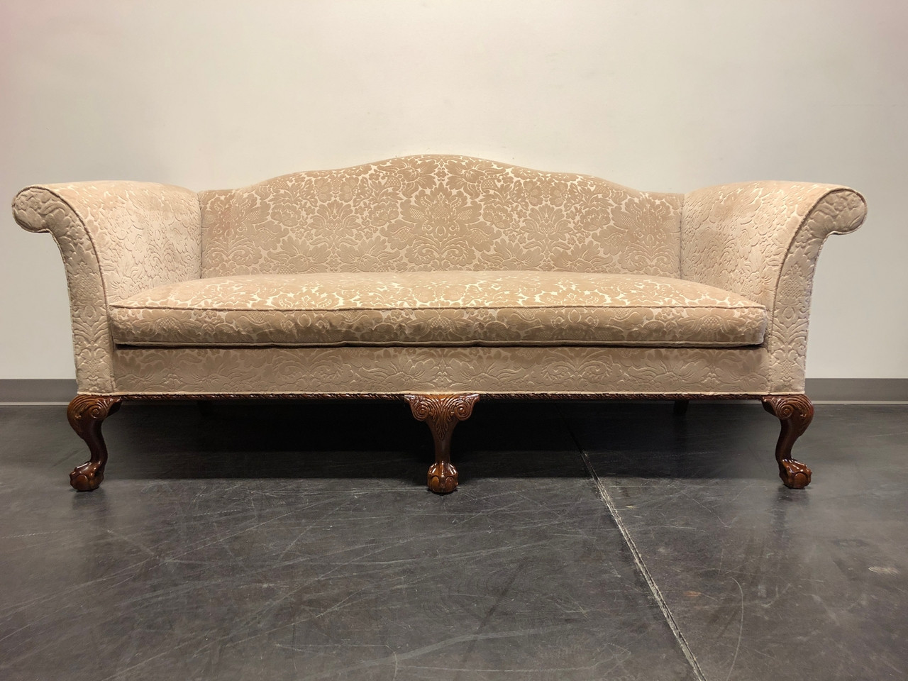 hickory chair co covers at wayfair chippendale carved mahogany ball in claw camel back sofa