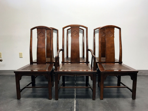 henredon asian dining chairs rocking chair in a bag sold out vintage chinoiserie w cane seats set of 6