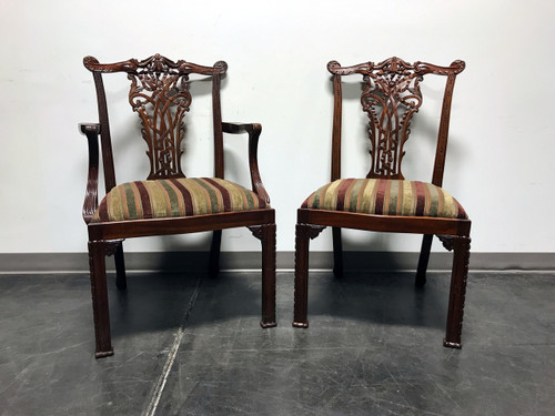 maitland smith dining chairs black wicker rocking chair outdoor sold out mahogany chippendale set of 8