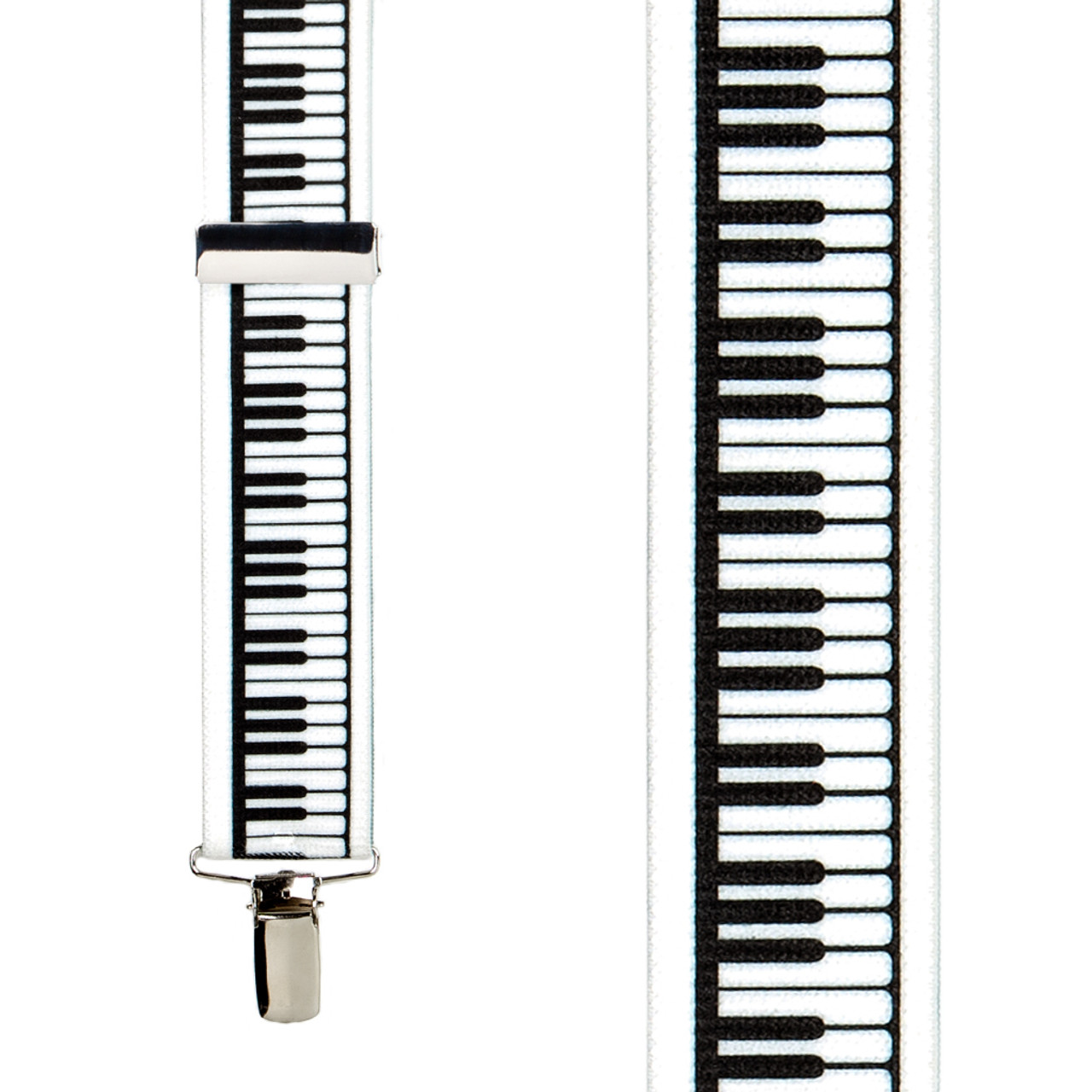 piano keys suspenders