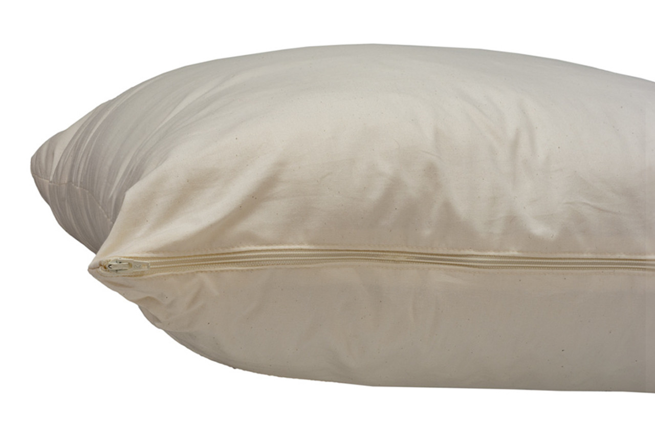just right organic cotton pillow cover only