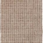 8 X 11 Tawny Brown And Mushroom Hand Woven Wool Ultra Plush Area Throw Rug 30844178