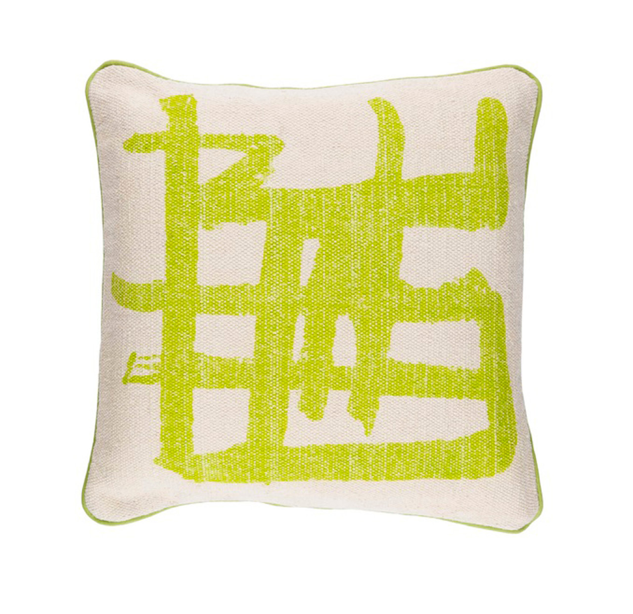 https www christmascentral com 20 key lime green and taupe gray asian design woven throw pillow