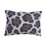 20 Dusty Blue Smoke Gray Pale Blue Gray Leopard Animal Print Decorative Throw Pillow Christmas Central