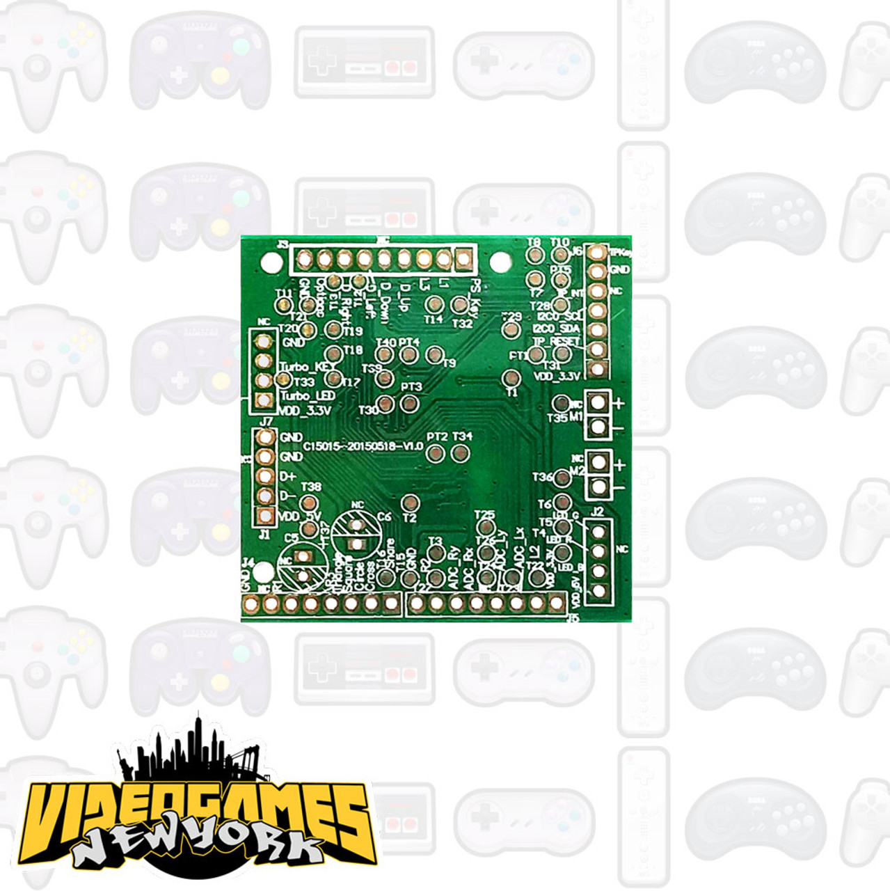 brook ps3 ps4 fighting board pcb  [ 1000 x 1001 Pixel ]