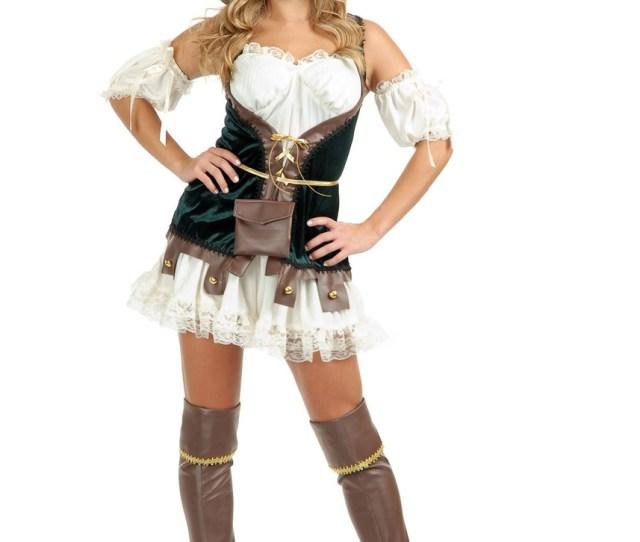 Robin Hood Elf Adult Womens Sexy Halloween Costume S Costumeville