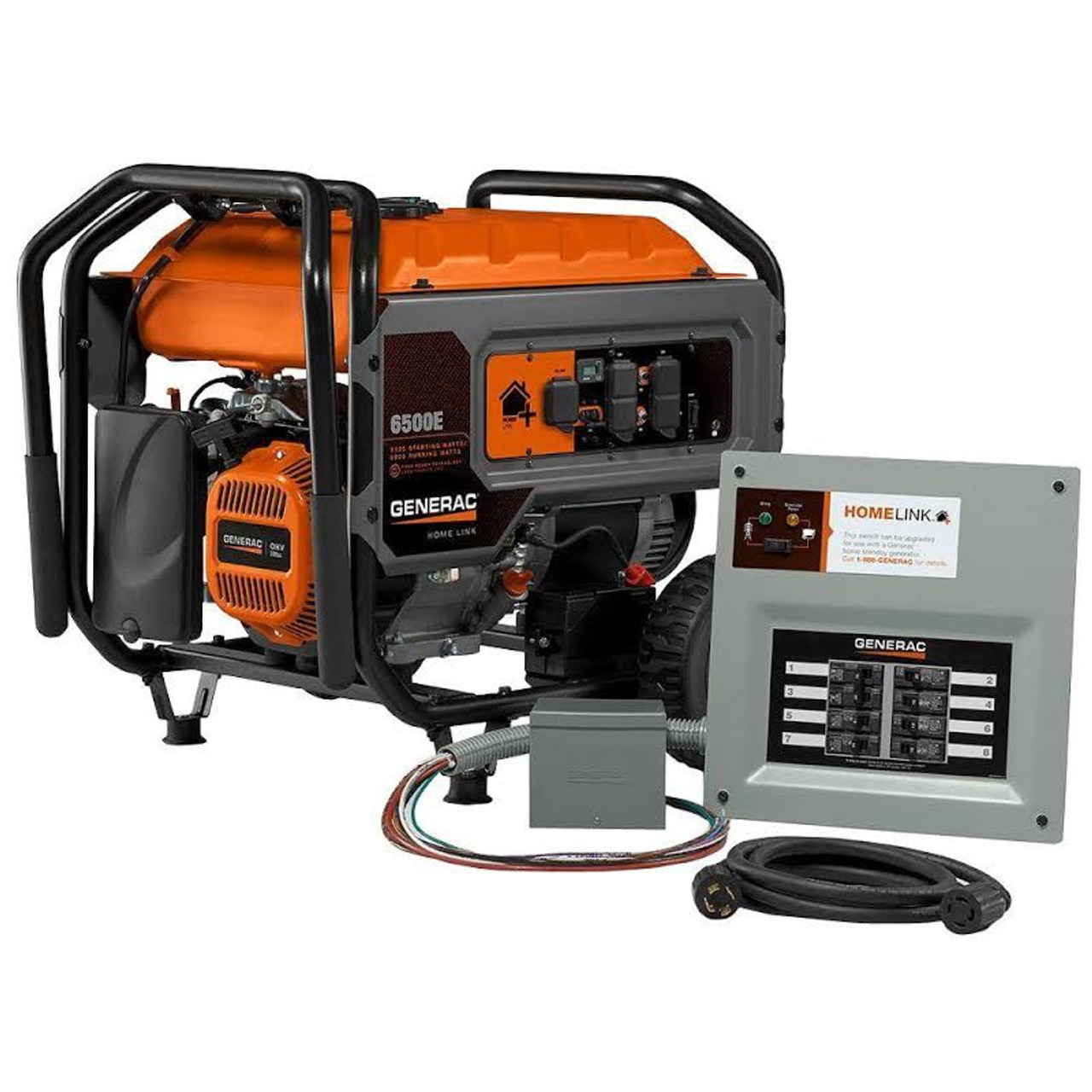 hight resolution of generac 6865 homelink 6500e portable generator w upgradeable mts