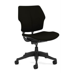 Freedom Task Chair With Headrest Steel Specification Humanscale Without Uplift Desk The Can Be Ordered Or Arms