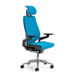 Office Chair With Headrest Folding Swivel Hunting Steelcase Gesture Shop Uplift Desk Enjoy More Responsive Seating The