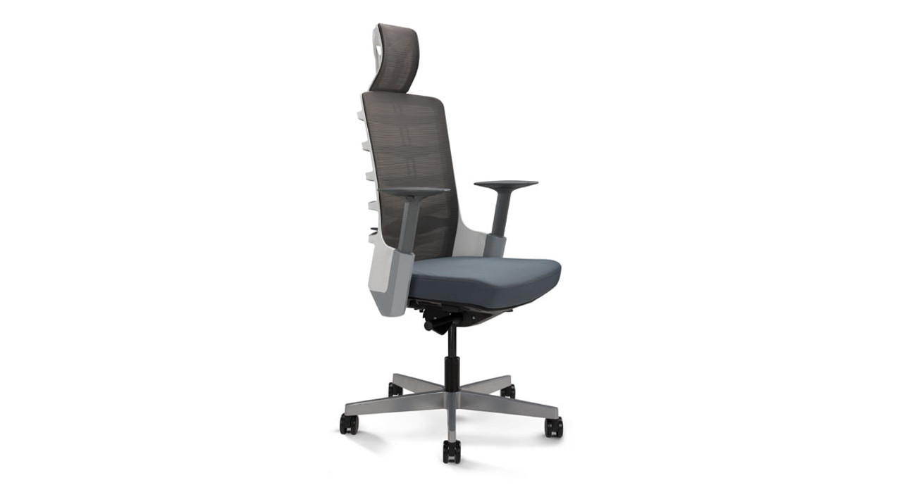 office chair review golden lift chairs canada vert ergonomic shop uplift desk choose your seating in white and gray