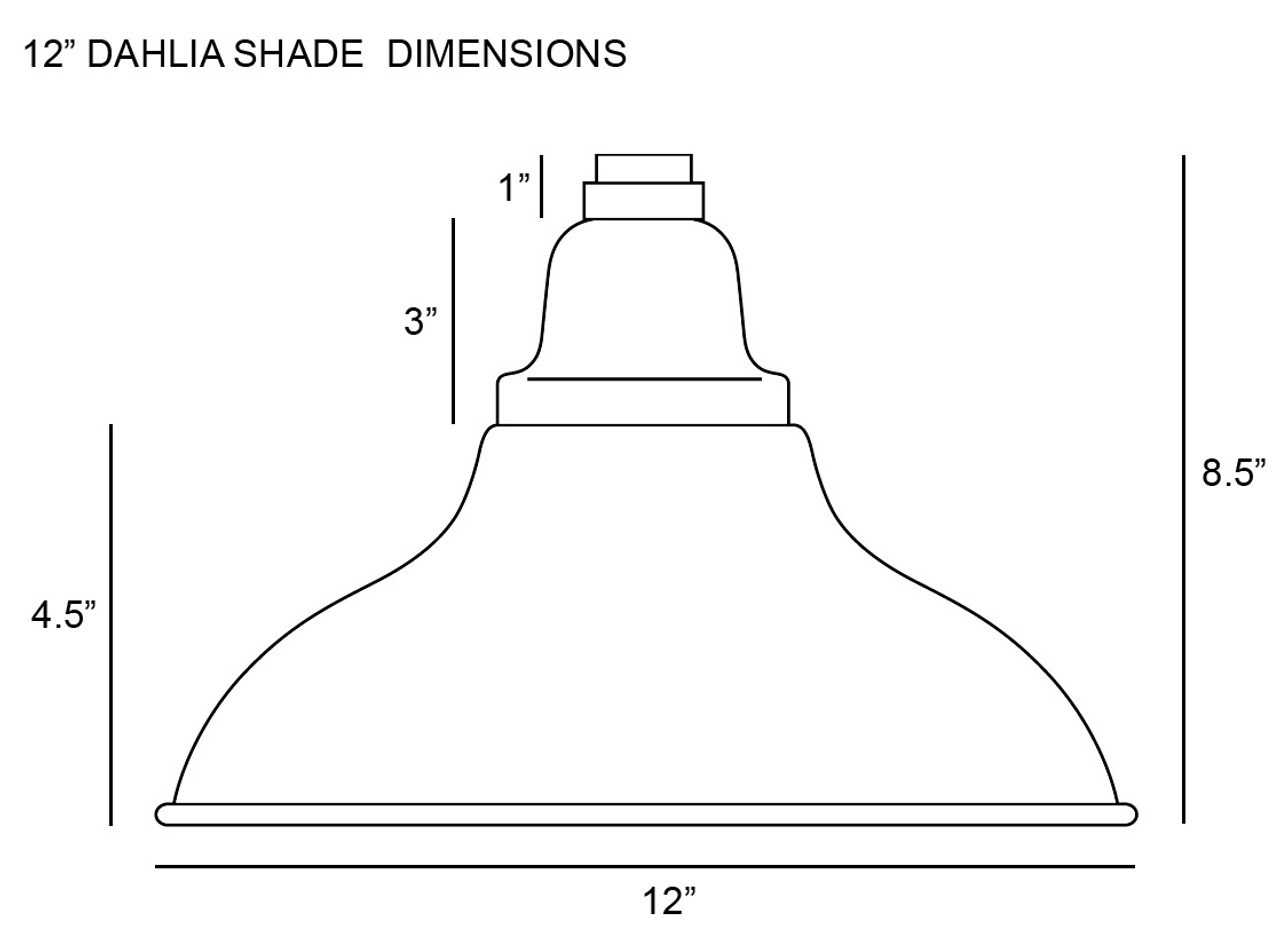 medium resolution of  lamp shade dimensions for cocoweb 12 dahlia led industrial floor