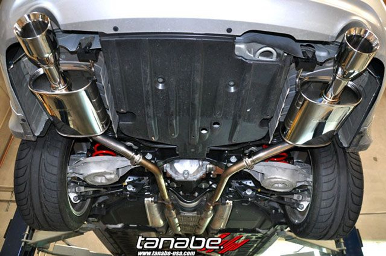 tanabe medallion touring exhaust for 2007 14 infiniti g35 g37 sedan t70130a