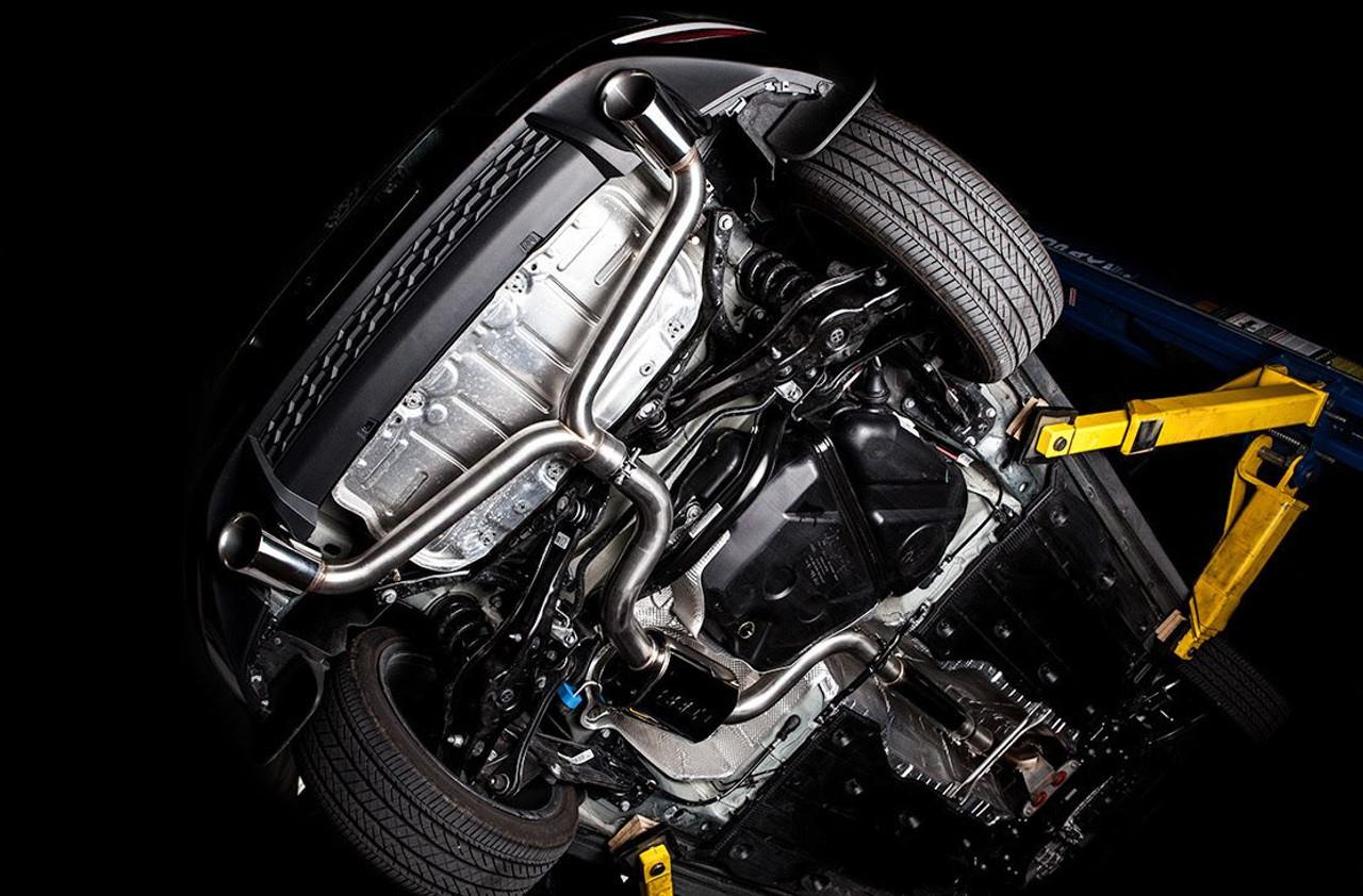 cobb cat back exhaust system for 2015 2016 volkswagen golf gti mk7 5v2100