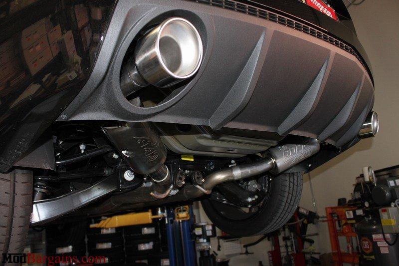 borla cat back exhaust for 2010 camaro ss l99 ls3 s type touring atak