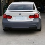 M Sport Style Rear Bumper For 2012 Bmw 3 Series F30