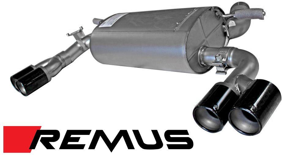 remus sport quad exhaust system for 2012 2016 bmw 328i 428i f30 f32 086012 0500
