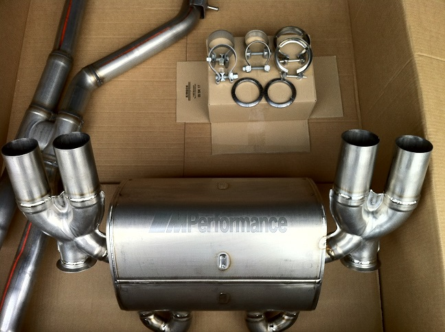 bmw m performance exhaust system for f80 f82 m3 m4