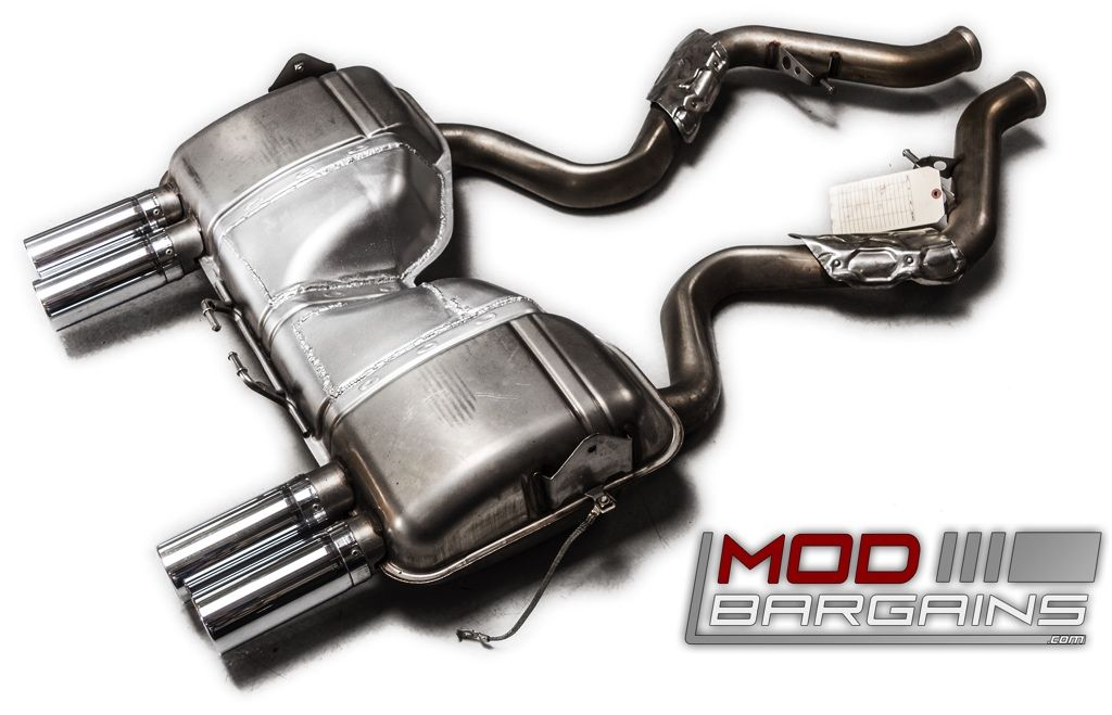 no longer available modified oem exhaust for bmw m3 2008 12 e90 e92