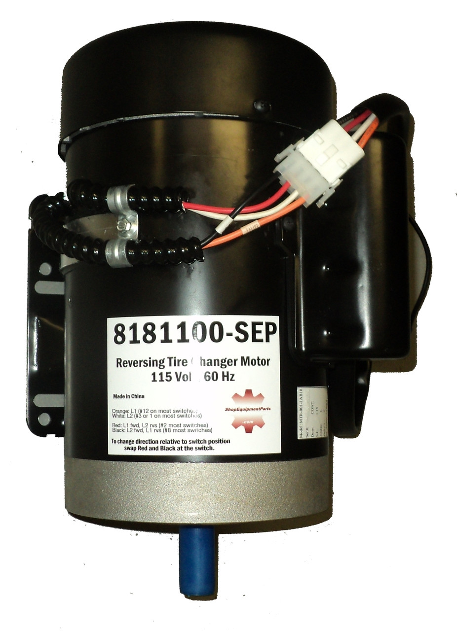 small resolution of tire changer parts 8181100 sep motor