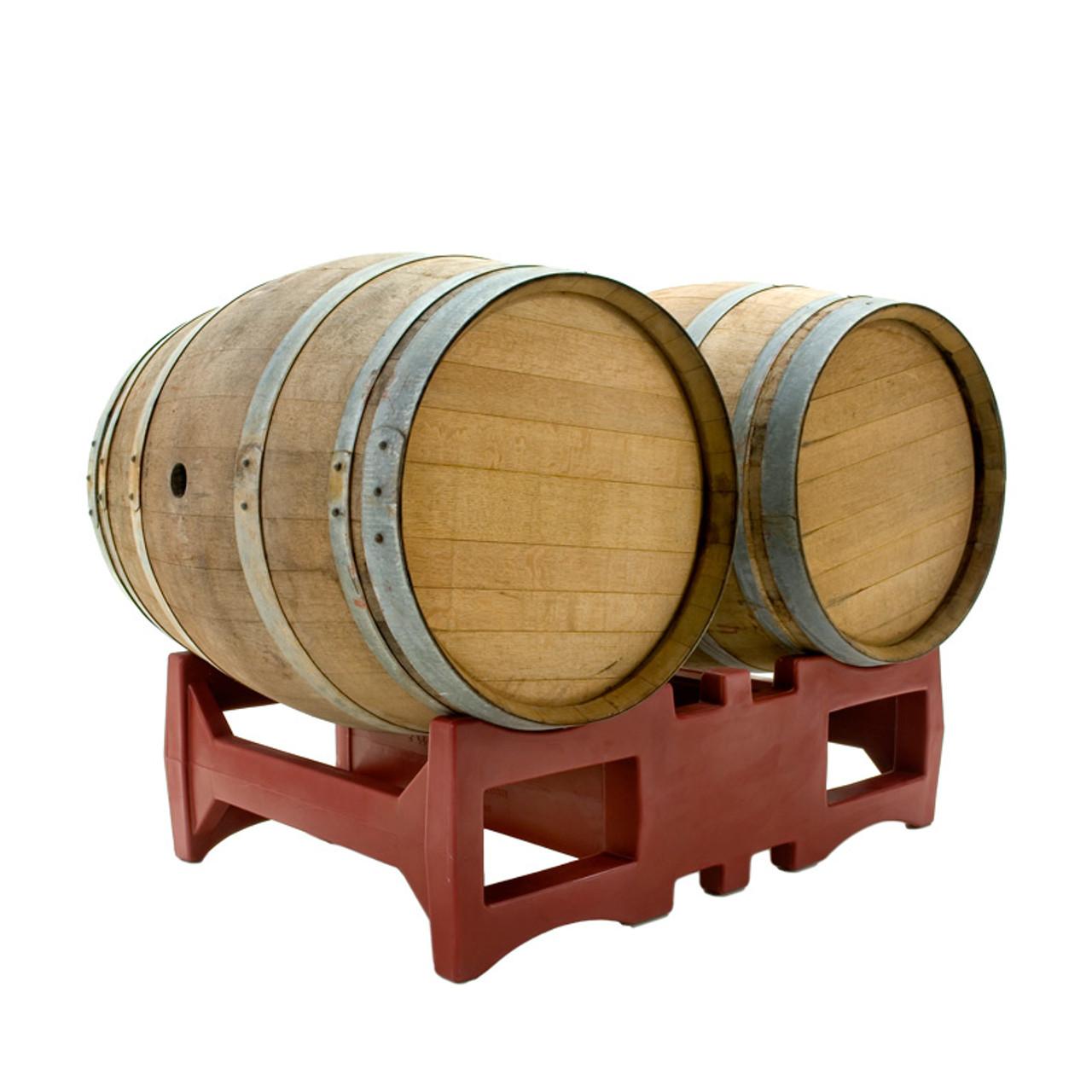 rack master plastic wine barrel racks