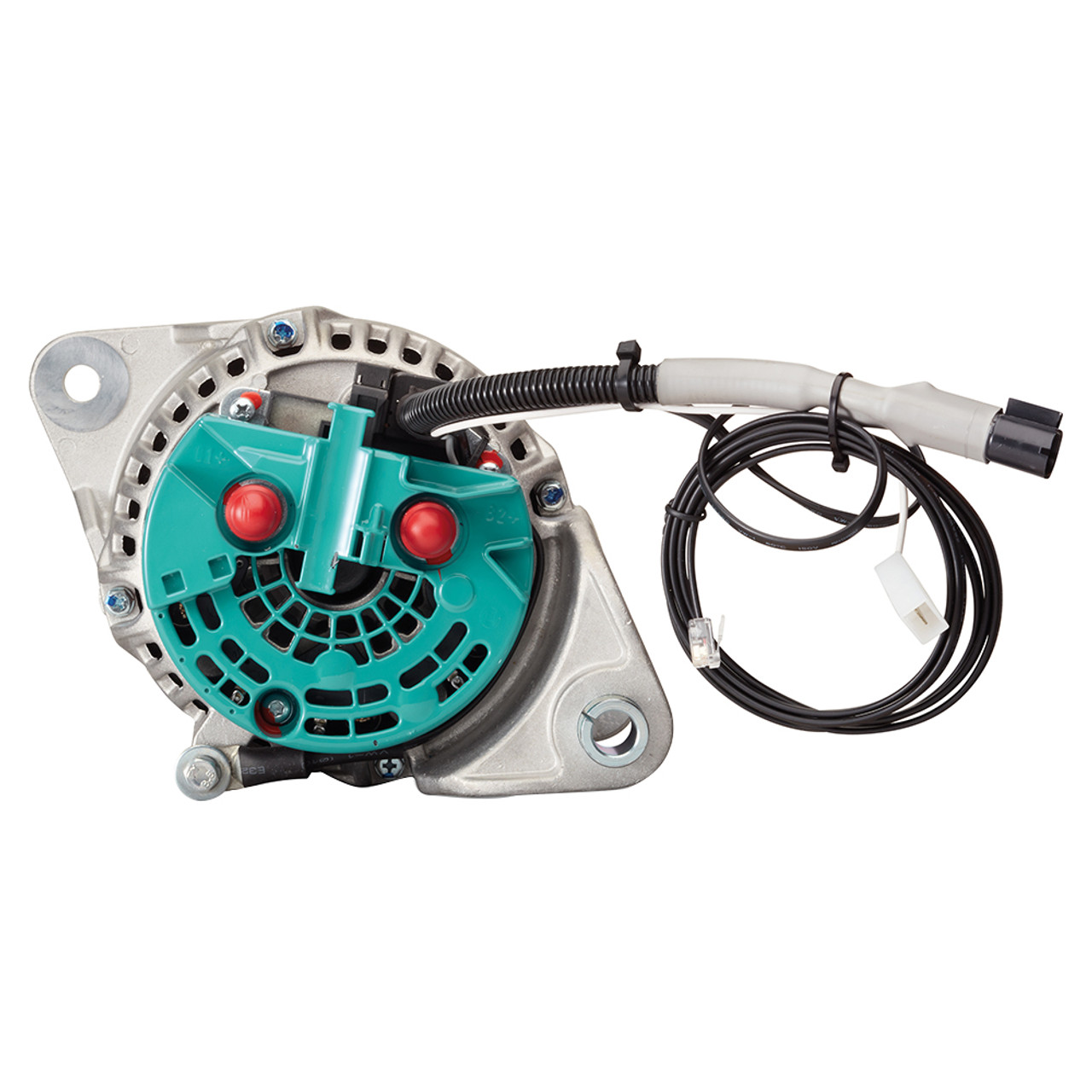 hight resolution of  mastervolt alpha compact alternator 28 80 volvo penta with pulley 8 ribs